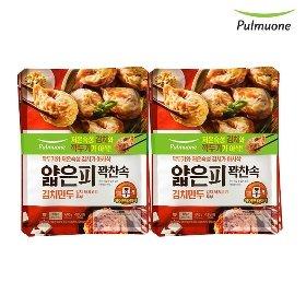 풀무원 얇은피꽉찬속 김치만두 (400g x 4봉)