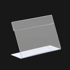 아크릴 쇼케이스(15x10cm)/L자형 아크릴꽂이 pop꽂이