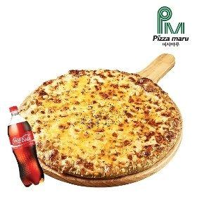 [피자마루]몬스터 치즈 피자+콜라1.25L