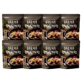 [옛골토성] 웅추로 만든 국민삼계탕 (1kg) x 8팩