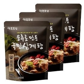 [옛골토성] 웅추로 만든 국민삼계탕 (1kg) x 3팩