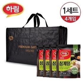 [냉동] 하림 즉석 삼계탕 선물세트 3.2kg (800g 4입)