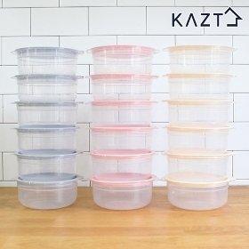가쯔 심플쿡 냉동밥 전자렌지용기(600ml) 24개